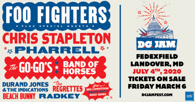 D.C. Jam: Foo Fighters & Chris Stapleton at FedEx Field