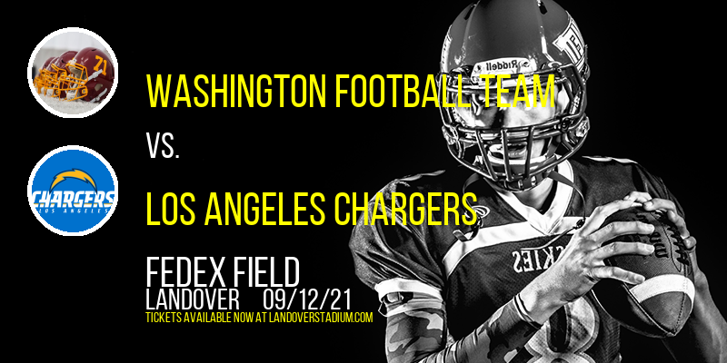 Washington Football Team vs. Los Angeles Chargers at FedEx Field